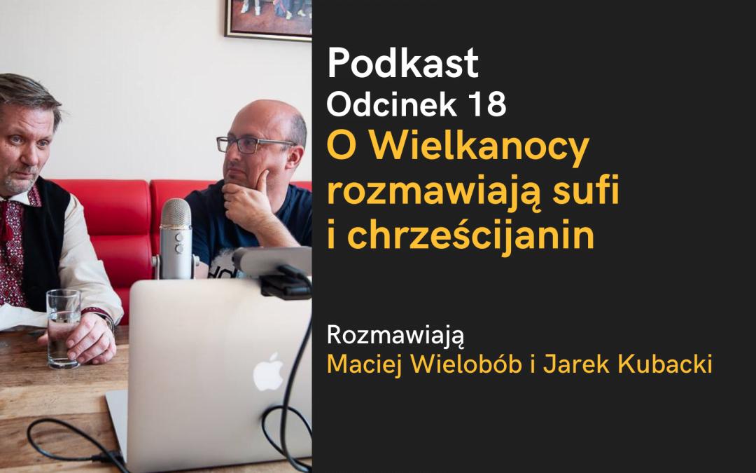 Podkast: O Wielkanocy rozmawiają sufi i chrześcijanin (Maciej Wielobób i Jarek Kubacki, zapis rozmowy z 2019)