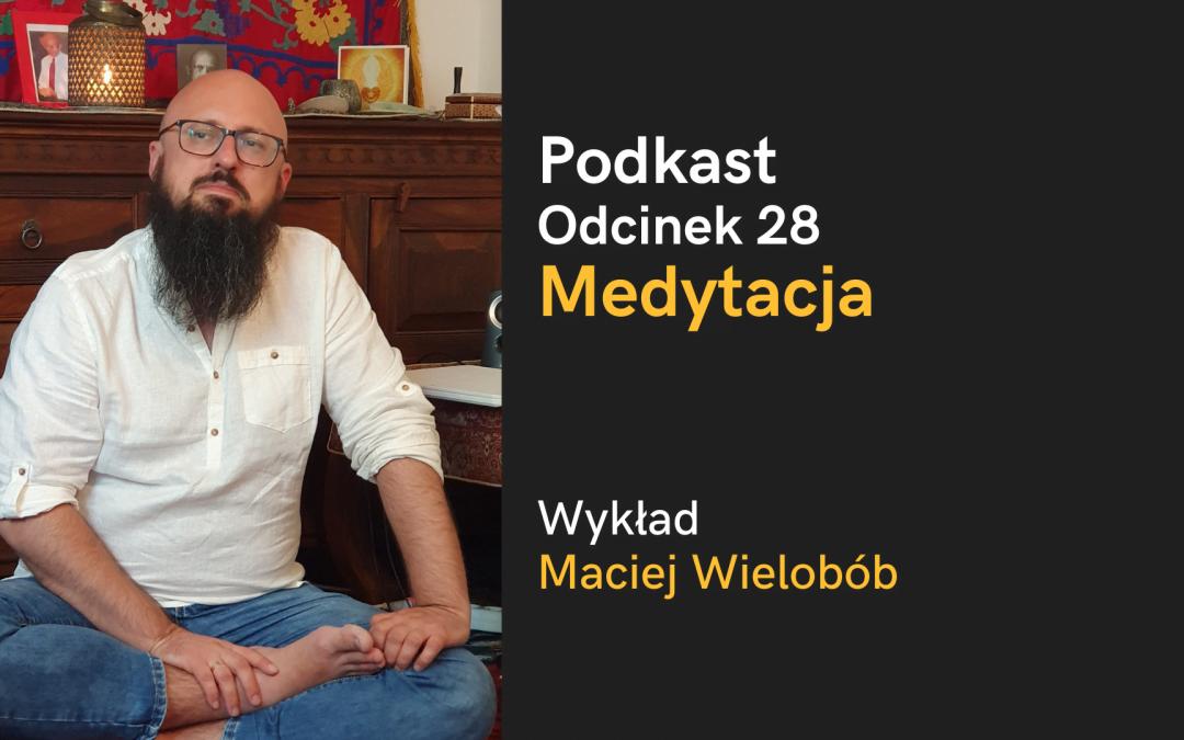 Podkast: Wprowadzenie do medytacji (nagranie wykładu i sesji pytań i odpowiedzi)